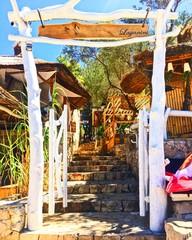 Gateway to the island off Split