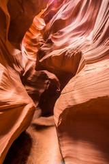Slot canyons in Page, Arizona