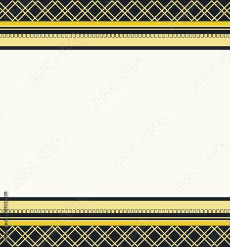 Card frame border with copy space\