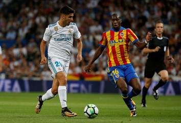 Spanish La Liga Santander - Real Madrid vs Valencia