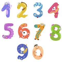 Numbers like monsters