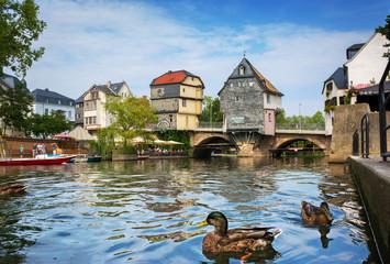 Bad Kreuznach – Sehenswürdigkeit Brückenhäuser auf Alter Nahebrücke