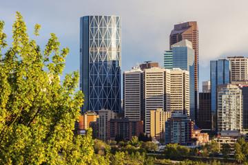 Calgary - panorama of city