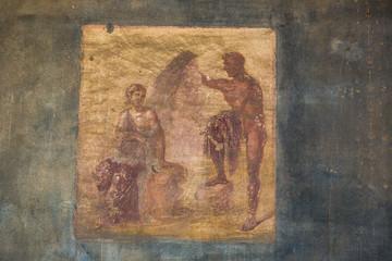 Pompeii city in Italy