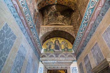 Hagia Sophia interior in Istanbul