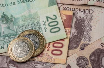Peso Mexicano, Monedas y billetes