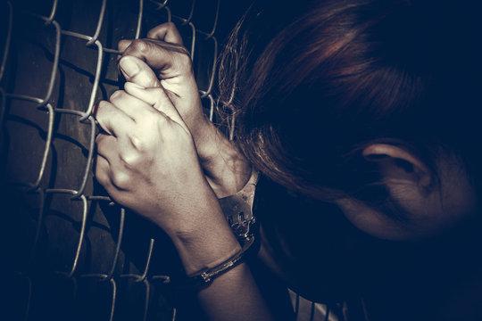 prisoner woman