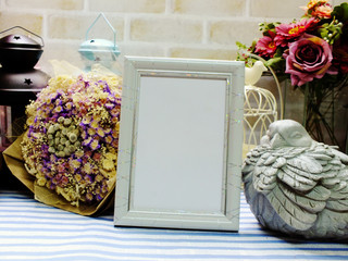 mock up frame home decor