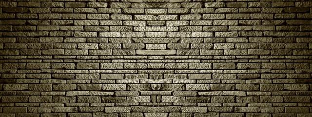 Dark brick wall,vintage style in background texture