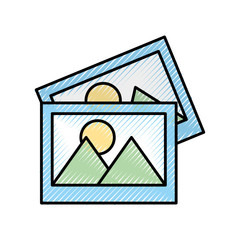pictures data file icon vector illustration design