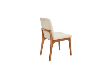 Wooden and fabric Chair