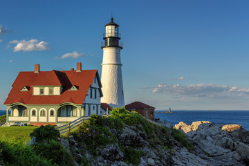 Portland Head Lighthouse in Cape Elizabeth, Maine.