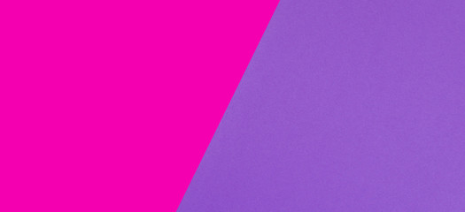Two tone of pink and purple paper background