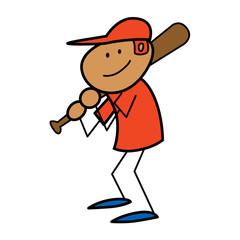 Stickperson Baseball