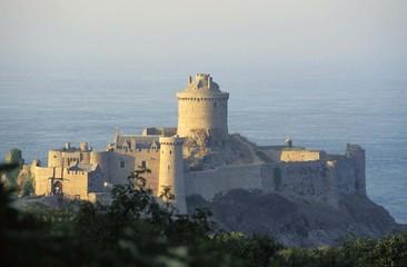 Fotorollo Befestigung Fort La Latte, côtes d'Armor, Bretagne, France