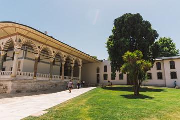 Yard of Topkapi Palace