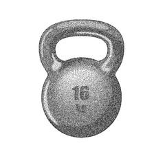 Kettlebell with handle