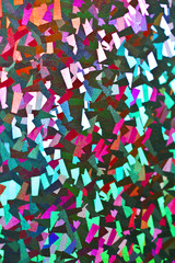 Holographic Abstract Shiny Background