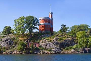 Burg auf Kastellholmen