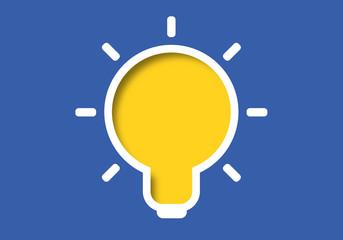idée - présentation - fond - ampoule - créativité - créatif - imagination