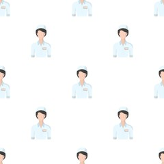 Medical staff in the hospital. Medicine single icon in cartoon style vector symbol stock illustration web.