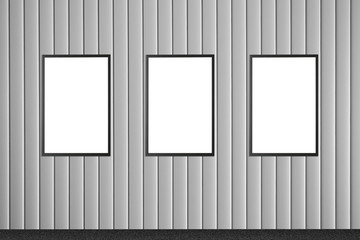 Billboard and poster template