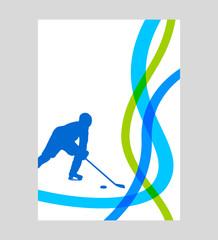Eishockey - 69 - Poster