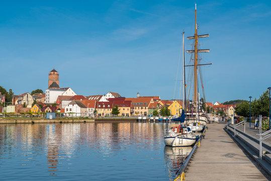 Hafen und Altstadt von Wolgast