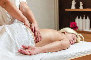 Low power of spine massage