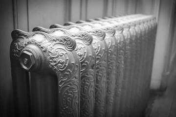 Cast iron radiator , victorian radiator
