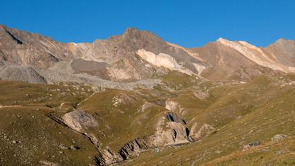 alba presso il rifugio Vittorio Sella - Parco nazionale del Gran Paradiso