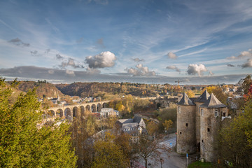 Panoramic at Sunset in Luxembourg