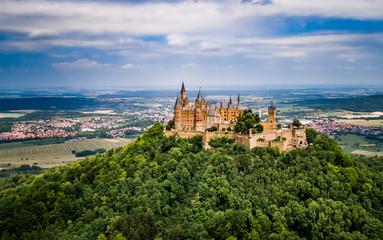 Fotobehang Kasteel Hohenzollern Castle, Germany.