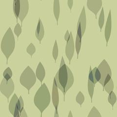 seamless stylish leafs background