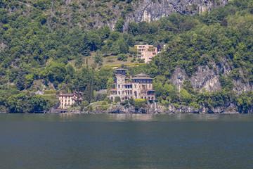 Villa Gaeta on Lake Como, Lombardy, Italy.