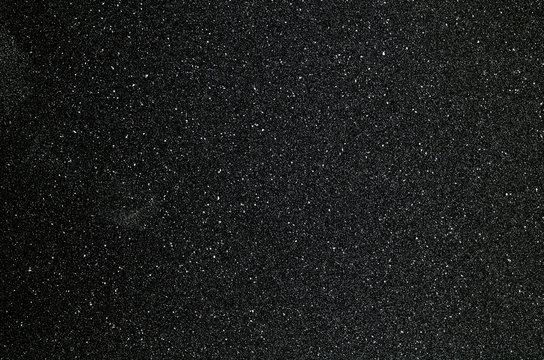 Black sandpaper to make a background image.