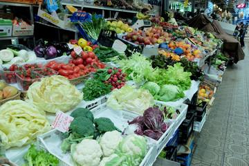 verdure ortaggi al mercato