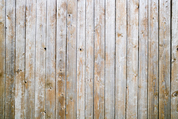 Natural wood board wall panel grunge texture. Old wooden planks rustic shabby gray background. Hardwood weathered grey timber surface