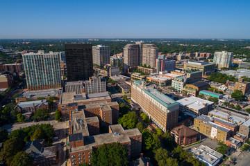Aerial image Evanston Chicago