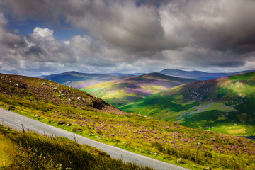 Irland, Hiking the Wicklow Way