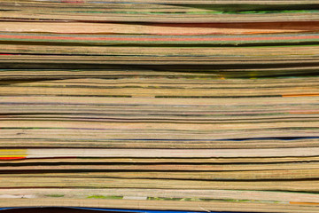 Stack of the old journals for background