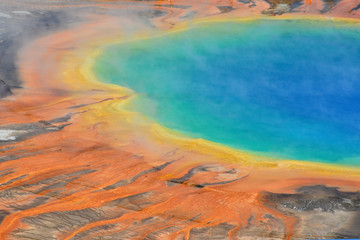 Grand Prismatic Spring, Yellowstone National Park, USA, Wyoming