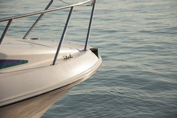 Boat bow - detail