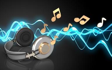 3d notes headphones