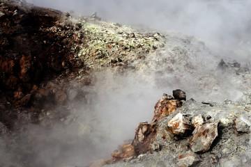 Detail of a geyser, Landmannalaugar, Iceland