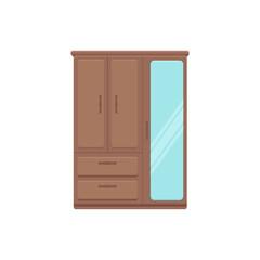 Furniture cartoon vector illustration
