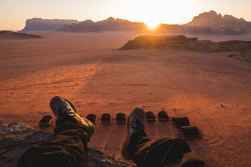 WadiRum Sunset