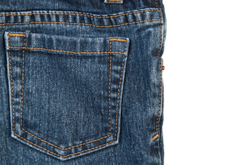 Back jeans pocket