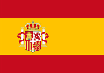 Flag of spain Wall mural