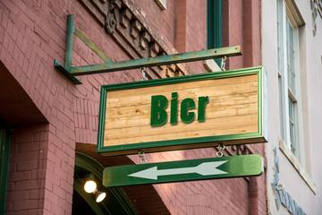 Schild 277 - Bier